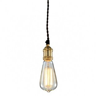 Breakwater Bay Woodhollow 1-Light Bulb Pe..