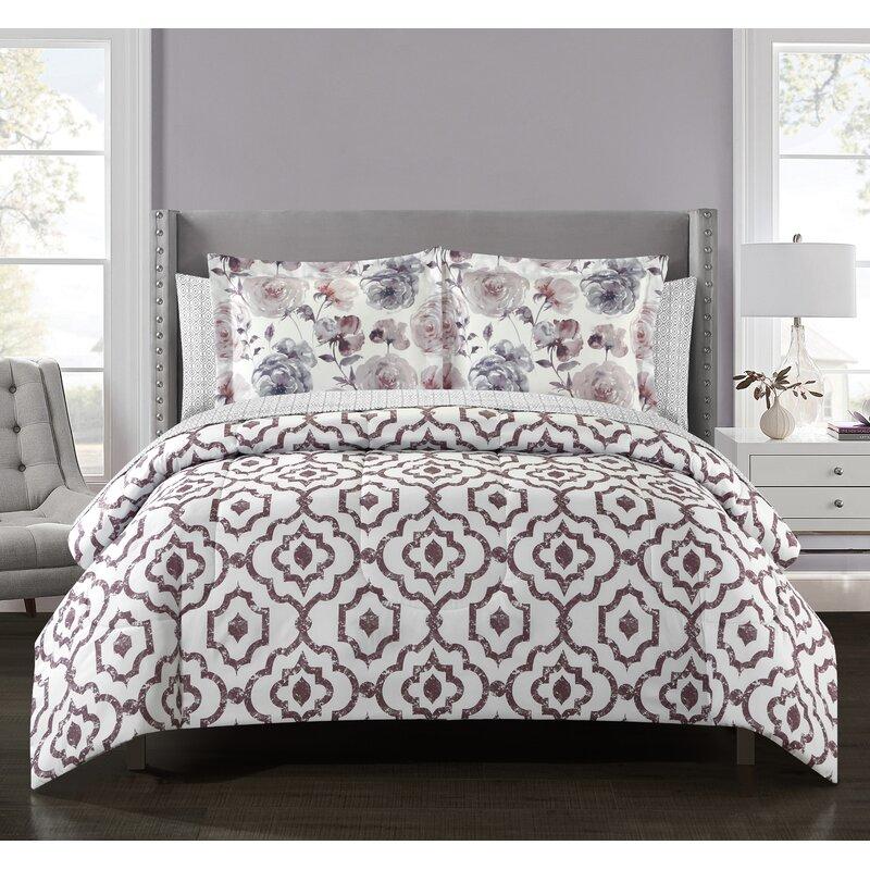 Winston Porter Targhee Reversible Comforter Set Reviews Wayfair