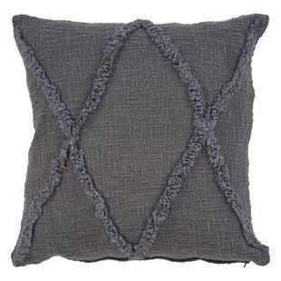 Kristi Rustic Cotton Throw Pillow