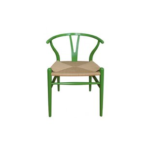 Amato Solid Wood Slat Back Dining Chair By Bungalow Rose