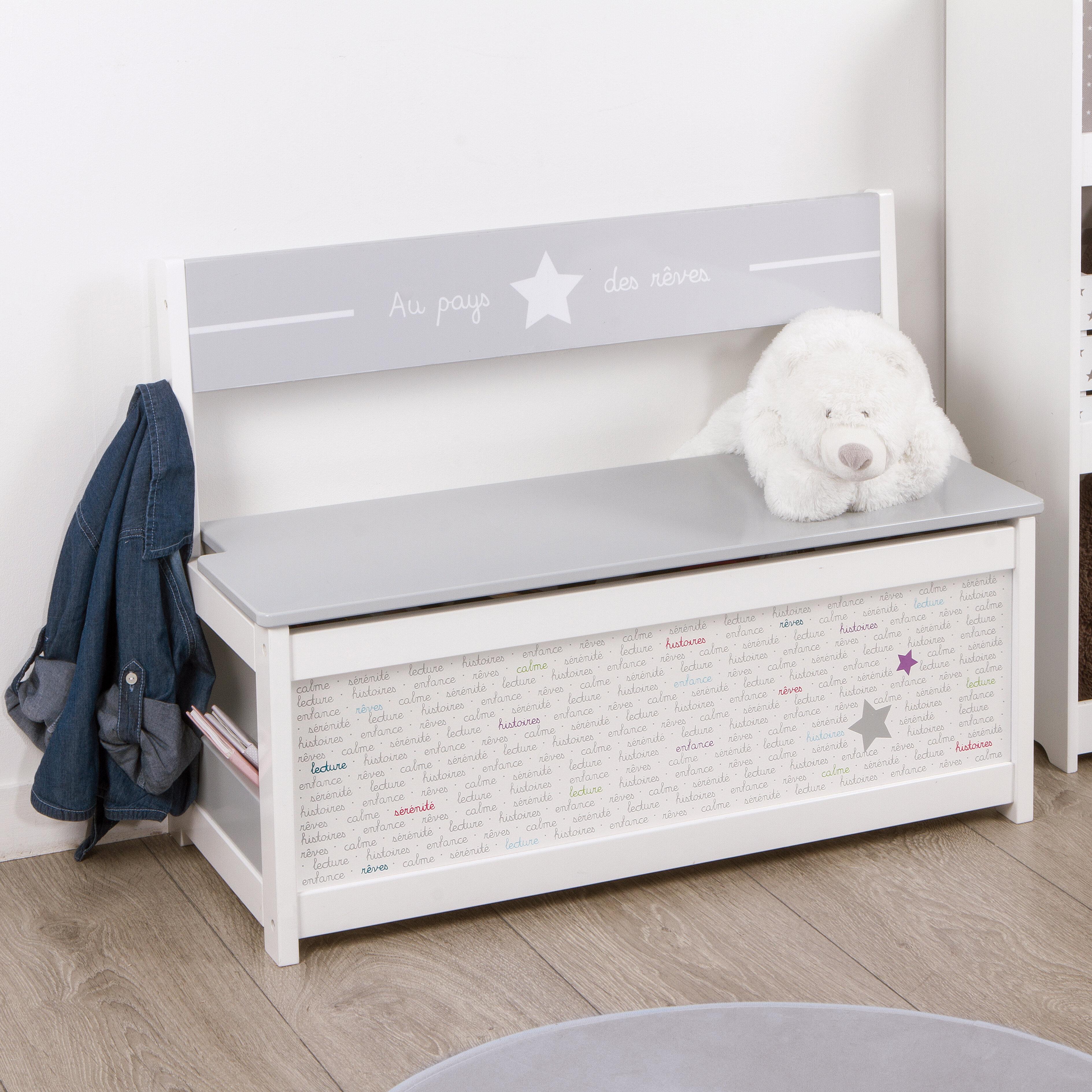 Isabelle Max Singer Toy Storage Bench Reviews Wayfair Co Uk