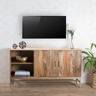 Bungalow Rose Connell Storage Media TV Stand for TVs up to 48
