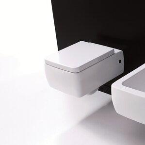black square toilet seat. Kerasan Elongated Toilet Bowl Modern Toilets  Shop for a AllModern