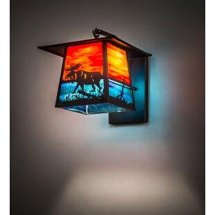 1-Light Outdoor Wall Lantern by Meyda Tif..