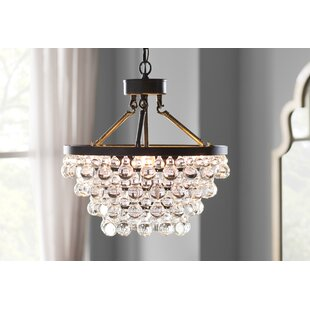 Price Check Mcmillen 5-Light Crystal Chandelier By House of Hampton