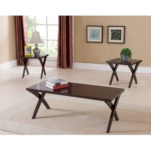 Raymond 3 Piece Coffee Table Set