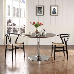 Sydnee Solid Wood Dining Chair (Set of 2) Mistana