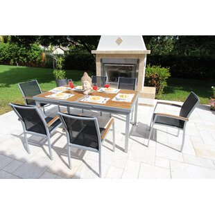 Dascomb 7 Piece Teak Dining Set