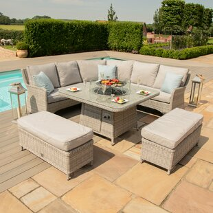 Geira 10 Seater Rattan Corner Sofa Set By Sol 72 Outdoor