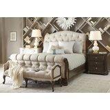 Mokane Sleigh Solid Wood Configurable Bedroom Set by Charlton Home