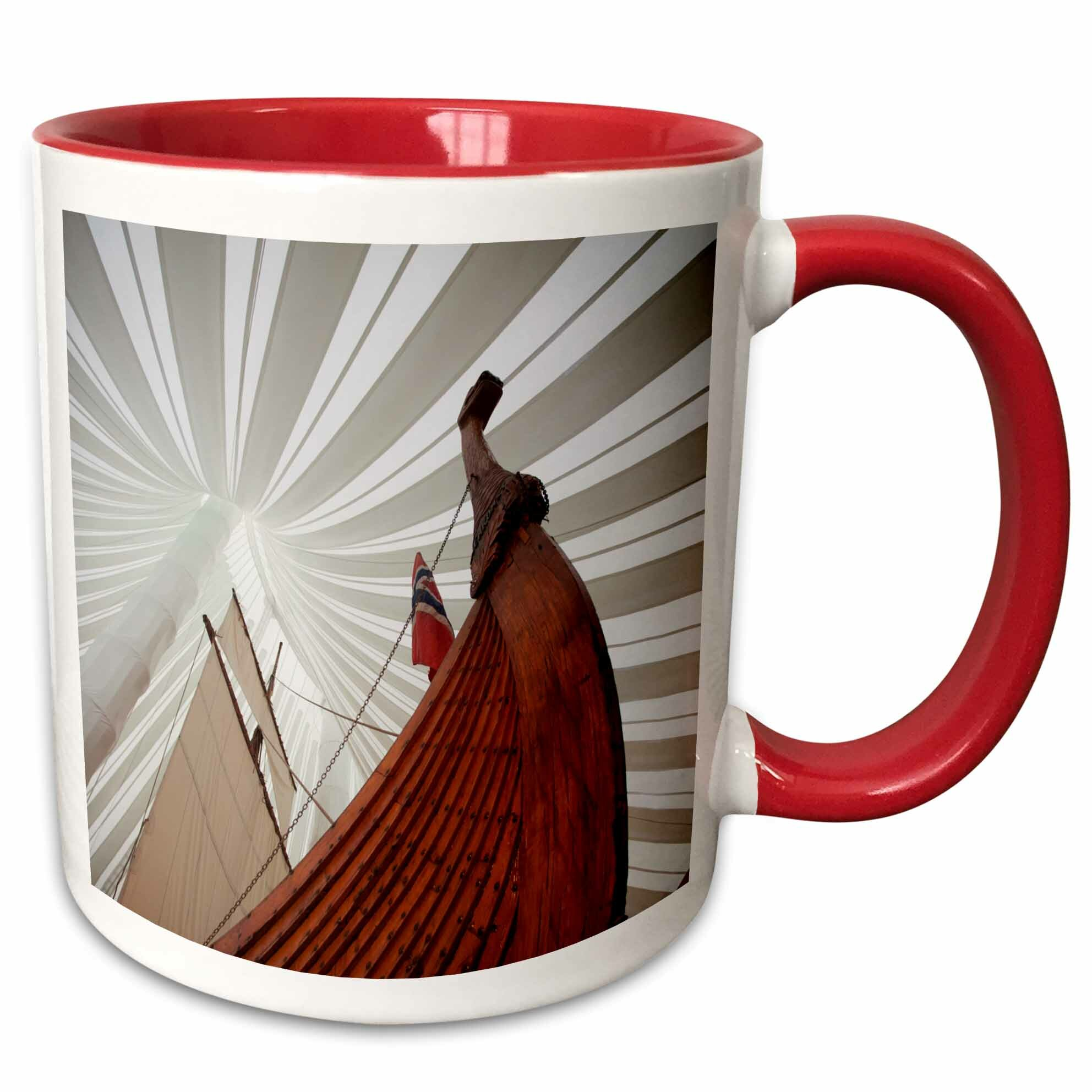 East Urban Home Heritage Hejmkomst Viking Ship Replica Moorhead Minnesota Usa Coffee Mug Wayfair