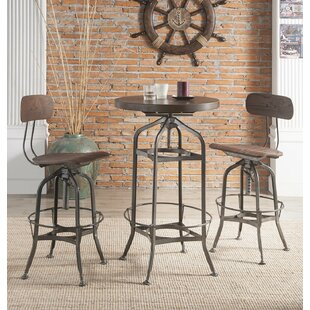 Fauntleroy 3 Piece Dining Set by Williston Forge