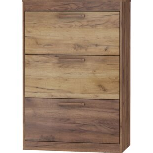 Review Frey 16 Pair Shoe Storage Cabinet