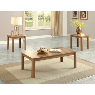 Find Valverde Wooden 3 Piece Coffee Table Set By Red Barrel Studio