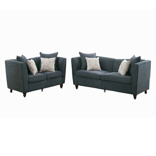 Price comparison Holdren 2 Piece Living Room Set by Alcott Hill Reviews (2019) & Buyer's Guide
