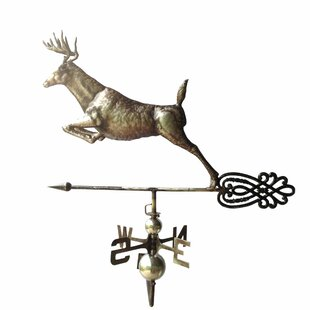 Leaping Deer Weathervane By Backyard Expressions