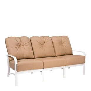 Fremont Patio Sofa with Cushions by Woodard