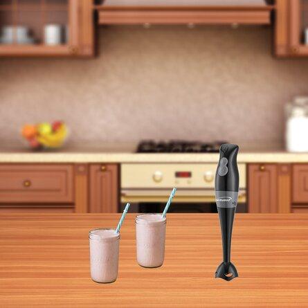 Brentwood Appliances 2-Speed 200-Watt Hand Blender (Black)