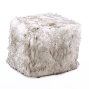 Faux Fox Pouf Ottoman by Best Home Fashion, Inc.