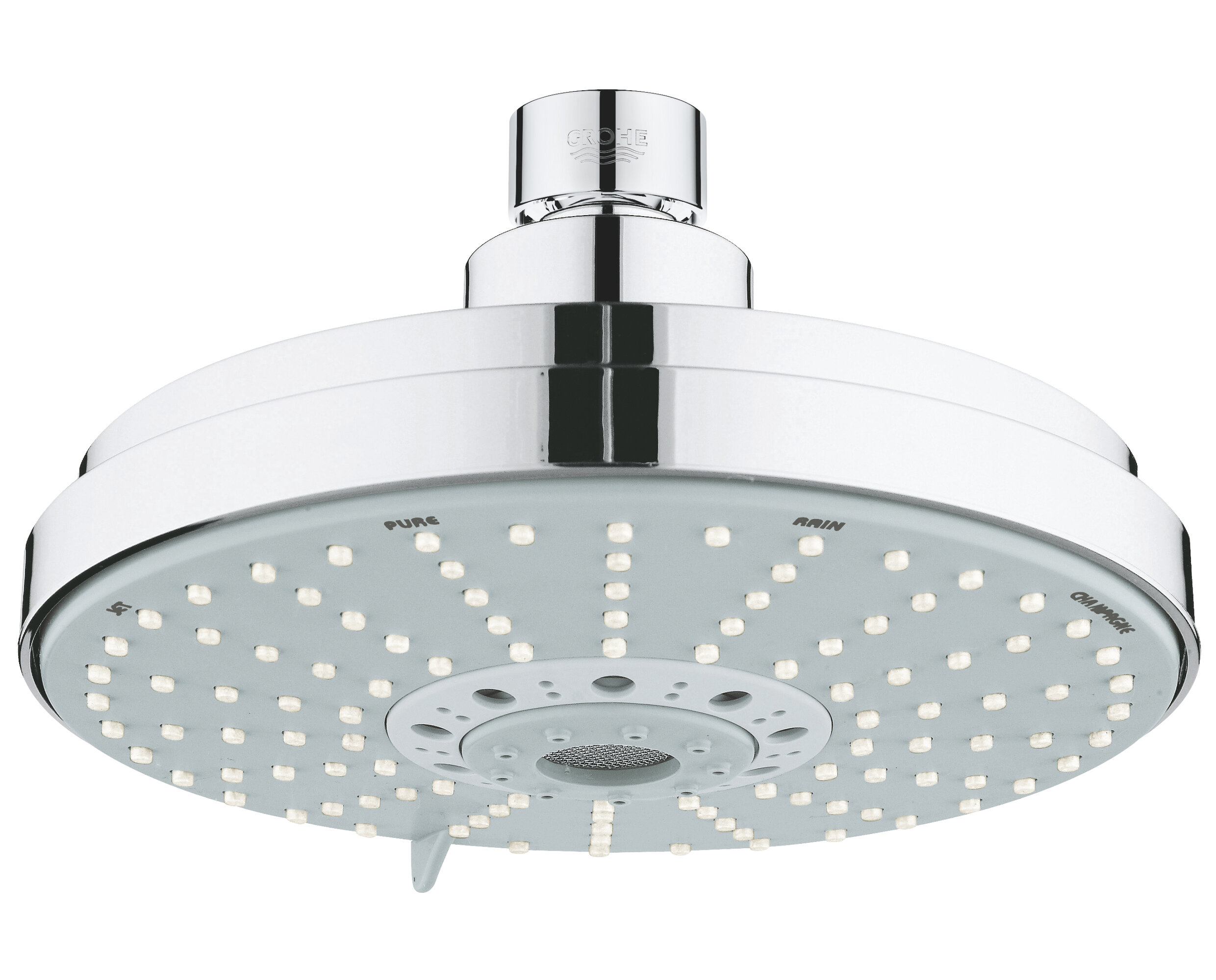 Rainshower Diverter Multi Function Rain Shower Head With Dreamspray