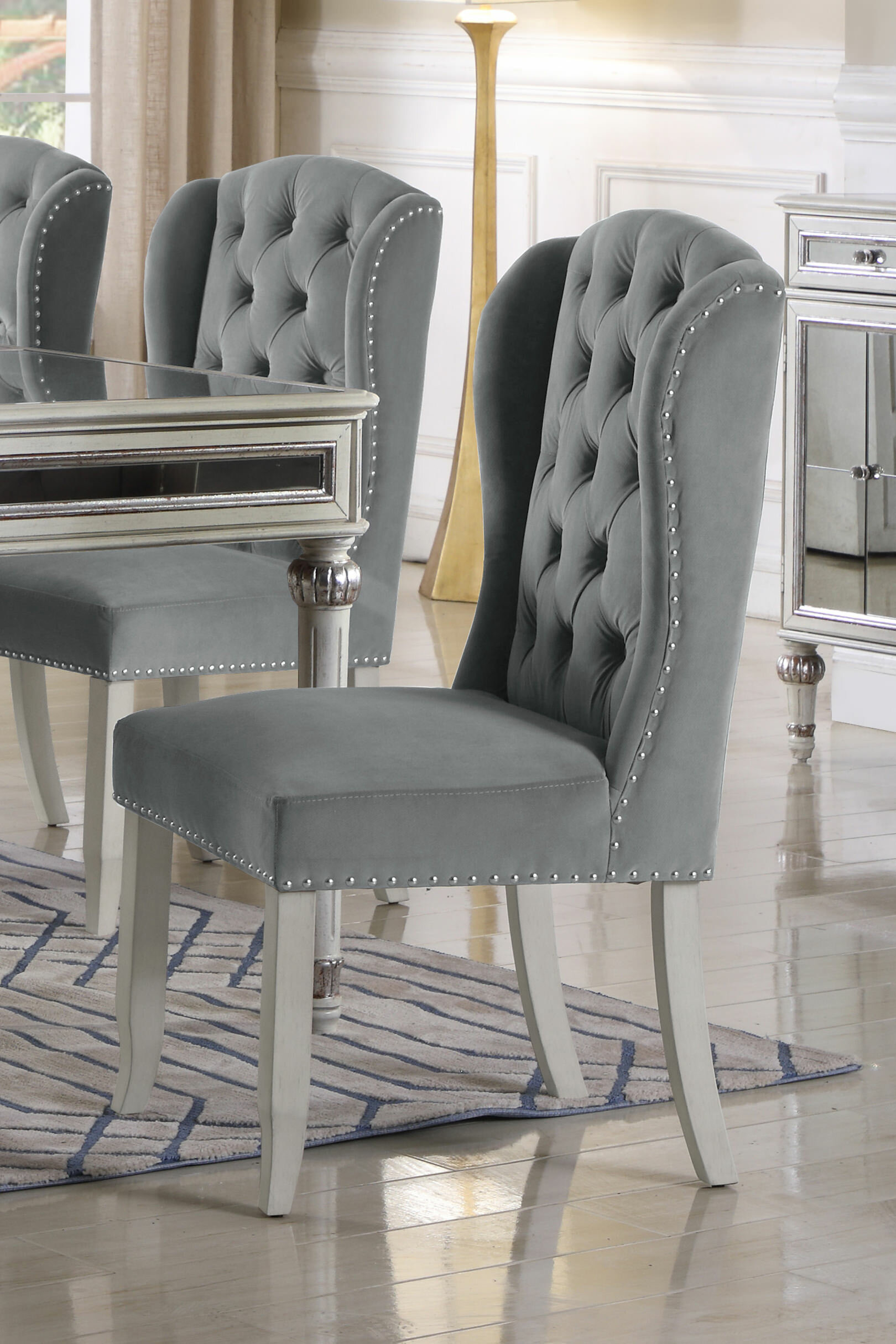 lowest price 29033 01e4d Boucher Wingback Dining Chair