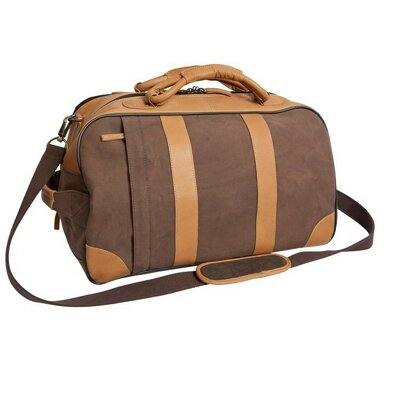 """Stilson 20"""" 2 Wheeled Travel Duffel Canyon Outback Leather"""