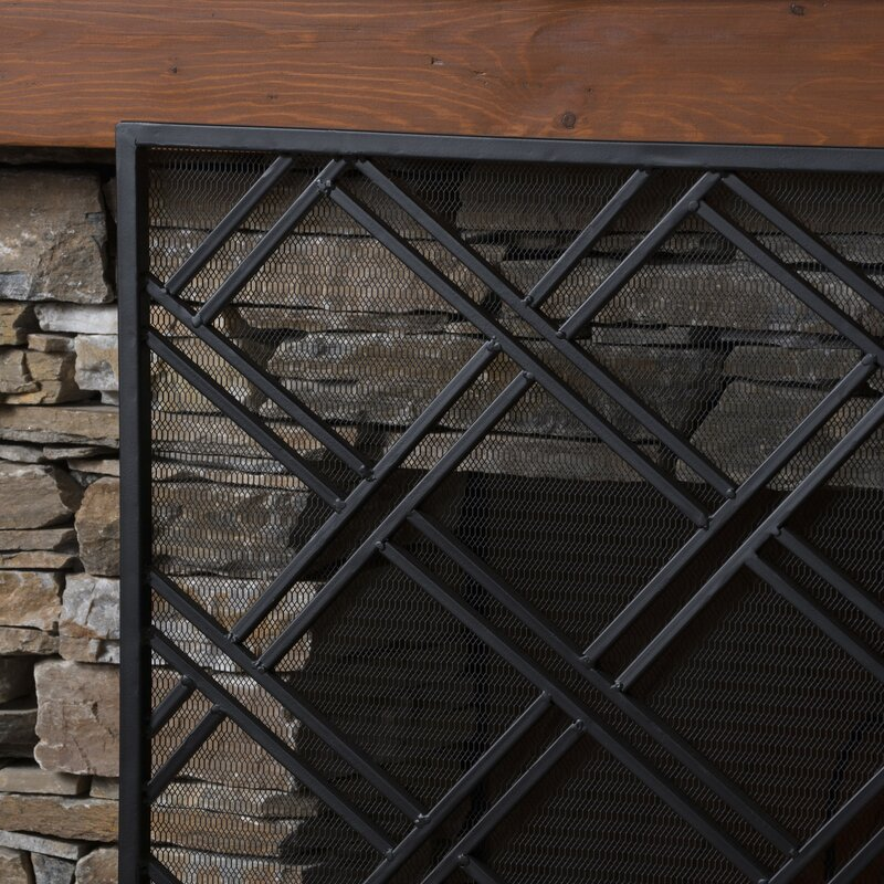 screens mather sullivan view fireplace architectural screen iron projects wrought