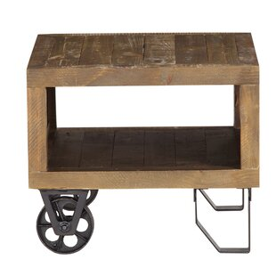 Dirks Reclaimed Wood End Table