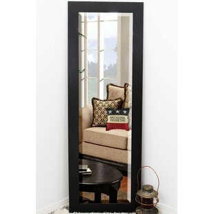 Reviews Beveled Black Wall Mirror ByBrayden Studio