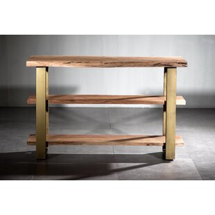 Setser Triple Shelf Console Table by Ivy Bronx