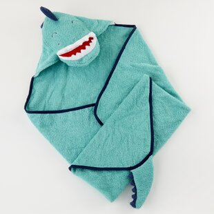 Dino Baby T-Rex Hooded 100% Cotton Bath Towel
