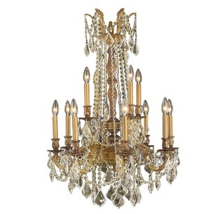 Radtke Cottage 12-Light Candle Style Chandelier by Astoria Grand