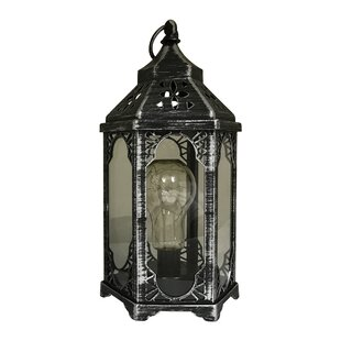World Menagerie Ravenwood 1 Light LED Outdoor Hanging Lantern