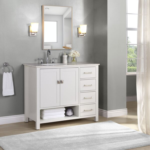 Latitude Run Iaria 42 Single Bathroom Vanity Set Reviews Wayfair