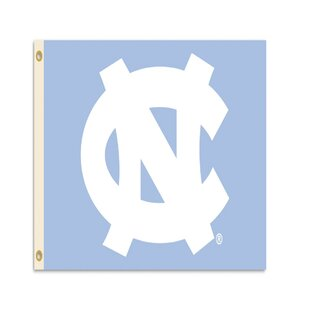 North Carolina Tar Heels 2-Sided Polyester 3 x 5 ft. Flag By BSI Products