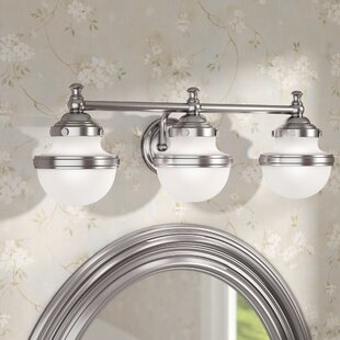 Read Reviews Myers 3-Light Vanity Light By Andover Mills