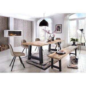 Küchenbank Tristan aus Holz von Hazelwood Home