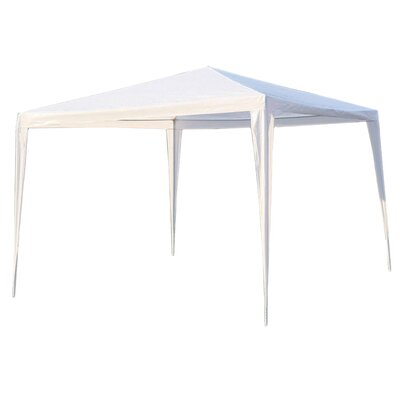 Patio 10 Ft. W x 10 Ft. D Steel Pop-Up Canopy ALEKO