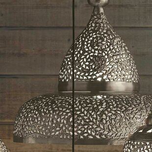 Inexpensive Lisse Open Bottom Hanging Lamp By Mistana