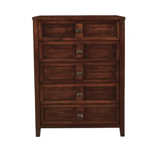 Compare Dunkin 5 Drawer Chest by Winston Porter