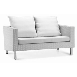 Dreamy Loveseat with Cushions by 100 Essentials
