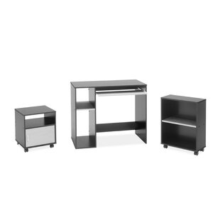 3-Piece Standard Desk Office Suite by Regency Top Reviews