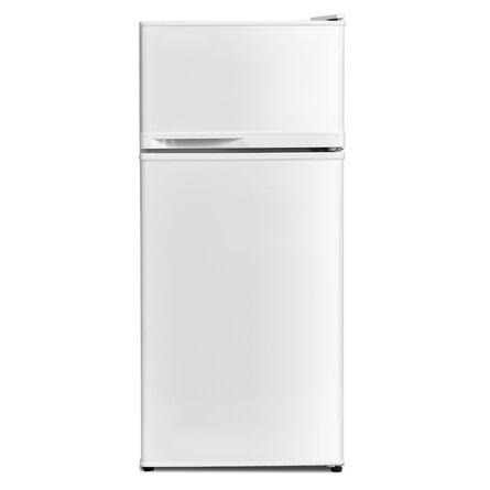 FORCLOVER 3.4 Cubic Feet cu. ft. Freestanding Mini Fridge with Freezer