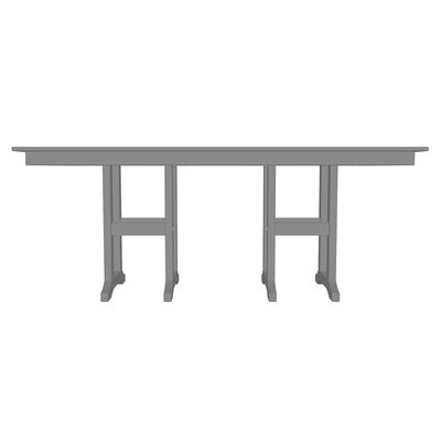 POLYWOOD® Traditional Rectangular 29.06 Inch Table by Sol 72 Outdoor Sale