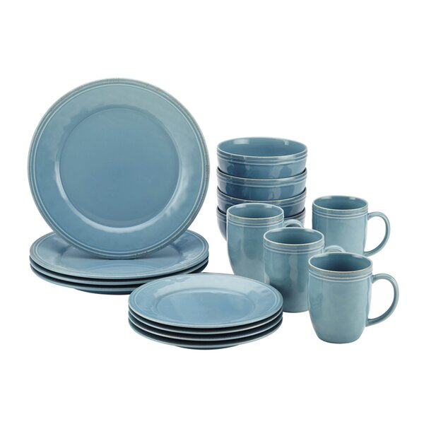 sc 1 st  Wayfair & Blue Dinnerware Sets Youu0027ll Love | Wayfair