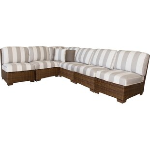Panama Jack 7 Piece Sectional Set with Cushions