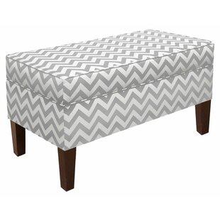 Emilie Upholstered Storage Bench by Skyline Furniture