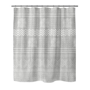 Adeline Woven Single Shower Curtain