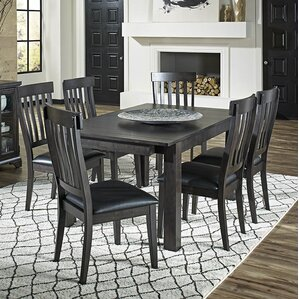 Alder 7 Piece Dining Set by Loon Peak