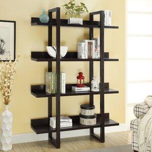 Pinney 4 Shelf Etagere Bookcase